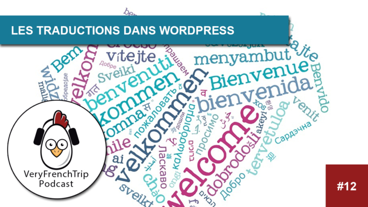 Podcast #12 La traduction dans WordPress