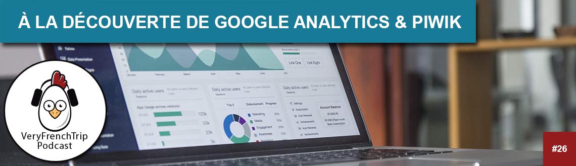 Podcast WordPress #26 Google analytics & Piwik