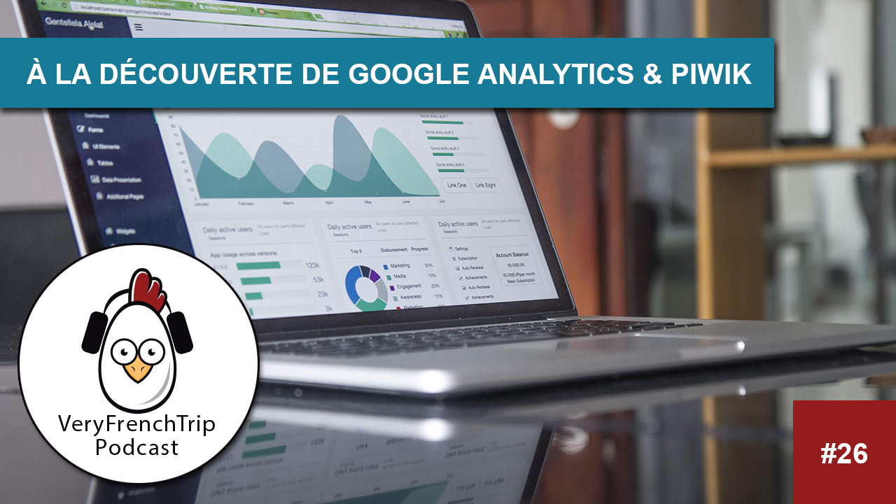 Podcast WordPress #26 Google analytics & Piwik